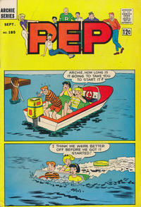 Cover Thumbnail for Pep (Archie, 1960 series) #185