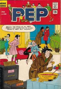 Cover Thumbnail for Pep (Archie, 1960 series) #190
