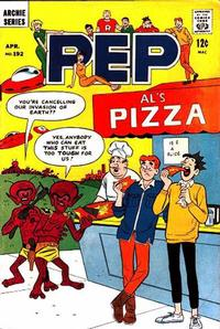 Cover Thumbnail for Pep (Archie, 1960 series) #192