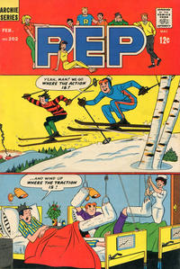 Cover Thumbnail for Pep (Archie, 1960 series) #202