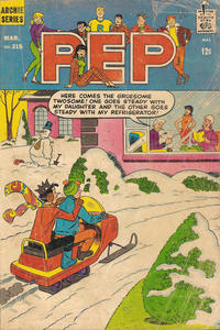 Cover Thumbnail for Pep (Archie, 1960 series) #215