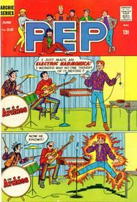 Cover Thumbnail for Pep (Archie, 1960 series) #218