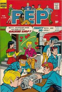Cover Thumbnail for Pep (Archie, 1960 series) #274