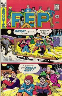 Cover Thumbnail for Pep (Archie, 1960 series) #312