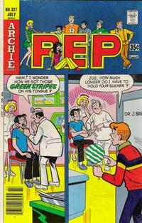 Cover Thumbnail for Pep (Archie, 1960 series) #327