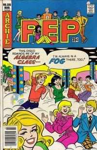 Cover Thumbnail for Pep (Archie, 1960 series) #335