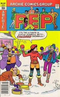 Cover Thumbnail for Pep (Archie, 1960 series) #347