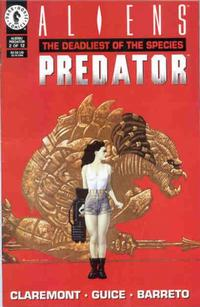 Cover Thumbnail for Aliens / Predator: The Deadliest of the Species (Dark Horse, 1993 series) #2