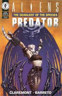 Cover Thumbnail for Aliens / Predator: The Deadliest of the Species (Dark Horse, 1993 series) #10
