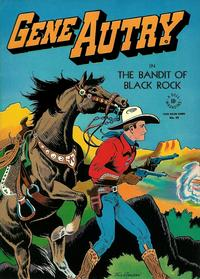 Cover Thumbnail for Four Color (Dell, 1942 series) #93 - Gene Autry in the Bandit of Black Rock
