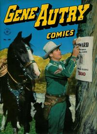 Cover Thumbnail for Four Color (Dell, 1942 series) #100 - Gene Autry Comics