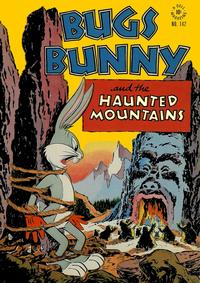 Cover for Four Color (Dell, 1942 series) #142 - Bugs Bunny and the Haunted Mountains