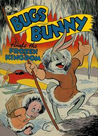 Cover Thumbnail for Four Color (Dell, 1942 series) #164 - Bugs Bunny Finds the Frozen Kingdom