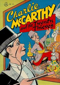 Cover for Four Color (Dell, 1942 series) #171 - Charlie McCarthy and the Twenty Thieves