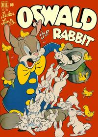 Cover Thumbnail for Four Color (Dell, 1942 series) #183 - Oswald the Rabbit