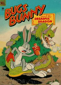 Cover Thumbnail for Four Color (Dell, 1942 series) #187 - Bugs Bunny and the Dreadful Dragon