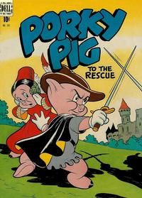 Cover Thumbnail for Four Color (Dell, 1942 series) #191 - Porky Pig to the Rescue