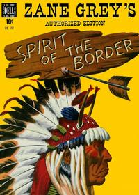 Cover Thumbnail for Four Color (Dell, 1942 series) #197 - Zane Grey's Spirit of the Border