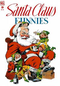 Cover Thumbnail for Four Color (Dell, 1942 series) #205 - Santa Claus Funnies