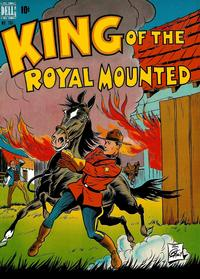 Cover Thumbnail for Four Color (Dell, 1942 series) #207 - King of the Royal Mounted