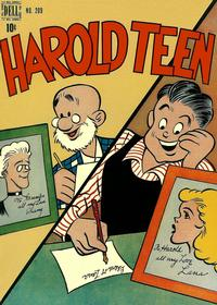 Cover Thumbnail for Four Color (Dell, 1942 series) #209 - Harold Teen