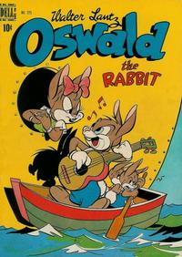 Cover Thumbnail for Four Color (Dell, 1942 series) #225 - Walter Lantz Oswald the Rabbit