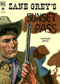 Cover Thumbnail for Four Color (Dell, 1942 series) #230 - Zane Grey's Sunset Pass