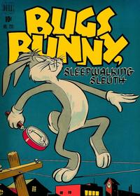 Cover Thumbnail for Four Color (Dell, 1942 series) #233 - Bugs Bunny, Sleepwalking Sleuth