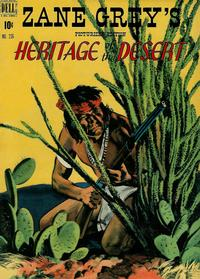 Cover Thumbnail for Four Color (Dell, 1942 series) #236 - Zane Grey's Heritage of the Desert
