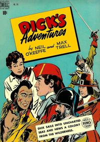 Cover Thumbnail for Four Color (Dell, 1942 series) #245 - Dick's Adventures