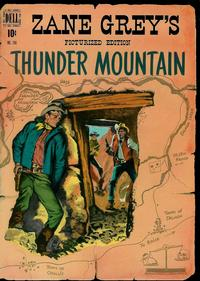 Cover Thumbnail for Four Color (Dell, 1942 series) #246 - Zane Grey's Thunder Mountain