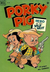 Cover Thumbnail for Four Color (Dell, 1942 series) #260 - Porky Pig, Hero of the Wild West