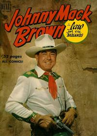 Cover Thumbnail for Four Color (Dell, 1942 series) #269 - Johnny Mack Brown