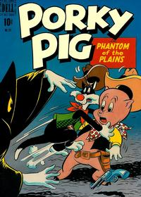 Cover Thumbnail for Four Color (Dell, 1942 series) #271 - Porky Pig in Phantom of the Plains