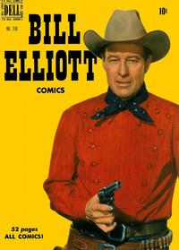 Cover Thumbnail for Four Color (Dell, 1942 series) #278 - Bill Elliott Comics
