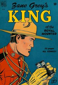 Cover Thumbnail for Four Color (Dell, 1942 series) #283 - Zane Grey's King of the Royal Mounted