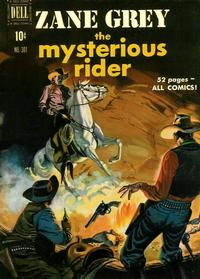 Cover Thumbnail for Four Color (Dell, 1942 series) #301 - Zane Grey The Mysterious Rider