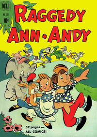 Cover Thumbnail for Four Color (Dell, 1942 series) #306 - Raggedy Ann & Andy