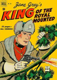 Cover Thumbnail for Four Color (Dell, 1942 series) #310 - Zane Grey's King of the Royal Mounted