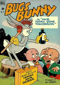 Cover Thumbnail for Four Color (Dell, 1942 series) #317 - Bugs Bunny in Hair Today, Gone Tomorrow