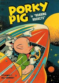 Cover Thumbnail for Four Color (Dell, 1942 series) #322 - Porky Pig in Roaring Rockets