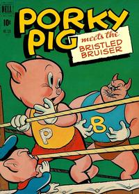 Cover Thumbnail for Four Color (Dell, 1942 series) #330 - Porky Pig Meets the Bristled Bruiser