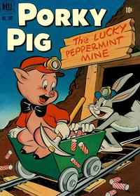 Cover Thumbnail for Four Color (Dell, 1942 series) #342 - Porky Pig in The Lucky Peppermint Mine