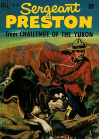 Cover Thumbnail for Four Color (Dell, 1942 series) #344 - Sergeant Preston from Challenge of the Yukon