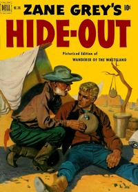 Cover Thumbnail for Four Color (Dell, 1942 series) #346 - Zane Grey's Hideout (Wanderer of the Wasteland)