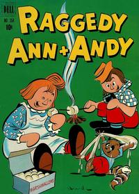 Cover Thumbnail for Four Color (Dell, 1942 series) #354 - Raggedy Ann & Andy