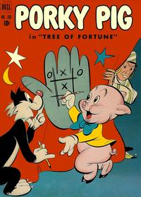 Cover Thumbnail for Four Color (Dell, 1942 series) #360 - Porky Pig in Tree of Fortune