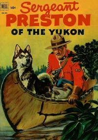 Cover Thumbnail for Four Color (Dell, 1942 series) #373 - Sergeant Preston of the Yukon
