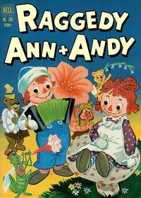 Cover Thumbnail for Four Color (Dell, 1942 series) #380 - Raggedy Ann & Andy