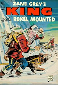 Cover Thumbnail for Four Color (Dell, 1942 series) #384 - Zane Grey's King of the Royal Mounted